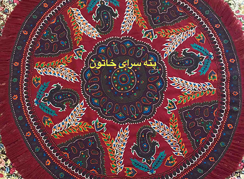 Pateh round tablecloth